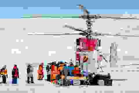 Hoàn tất sứ mệnh giải cứu 52 người bị mắc kẹt tại Nam Cực