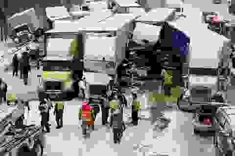 46 xe đâm liên hoàn trên cao tốc Mỹ, 3 người chết