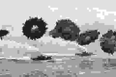 Mỹ, Hàn khoe sức mạnh trong tập trận