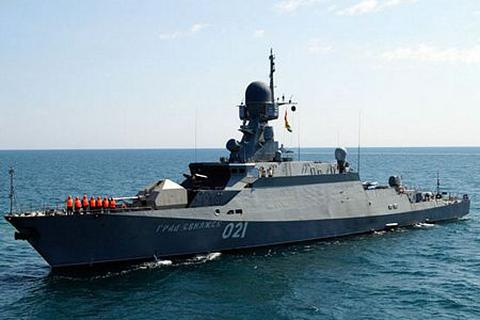 """Cận cảnh """"thợ săn chiến hạm"""" uy lực nhất Nga vừa điều khẩn cấp tới Crimea"""