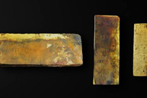 Tìm thấy kho vàng 1,3 triệu USD dưới đáy Đại Tây Dương