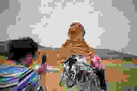 """Tượng Nhân sư """"nhái"""" ở Trung Quốc sẽ bị phá hủy"""