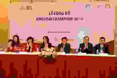 Khởi động mùa giải thứ ba cuộc thi tiếng Anh English Champion 2015
