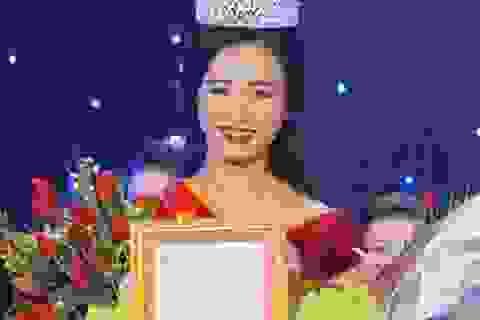 Nữ sinh ĐH Vinh đăng quang Miss Vinh 2014