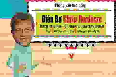 4 giáo sư ĐH Queen's University Belfast Anh quốc phỏng vấn học bổng tại Việt Nam
