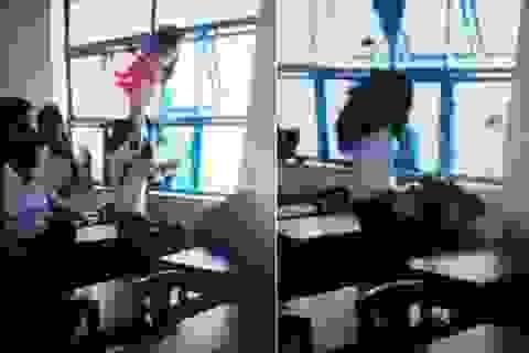 """Học sinh đánh bạn dã man: Xu hướng """"thích làm đại ca"""""""