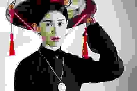 Ngọc Thảo trình diễn thời trang Việt 100 năm trong clip 1 phút