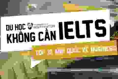 ĐH Northampton tổ chức thi tiếng Anh thay cho kết quả IELTS