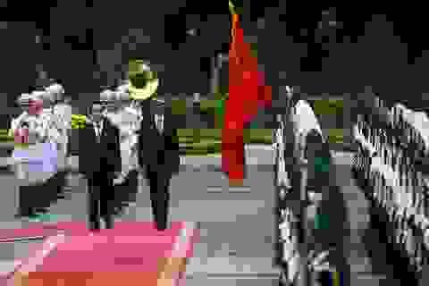 Toàn cảnh lễ đón chính thức Tổng thống Mỹ Obama tại Phủ Chủ tịch