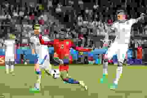 Video các tình huống trong trận đối đầu Anh 0-0 Slovakia