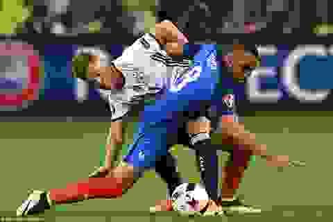 Videp clip các tình huống và bàn thắng trận Đức 0-2 Pháp