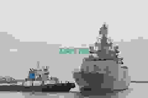 Tàu khu trục tàng hình đa nhiệm của Ấn Độ thăm Đà Nẵng