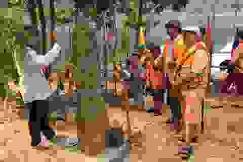 Cột đá thiêng A Lưới và truyền thuyết bên sông Ưng Hoong