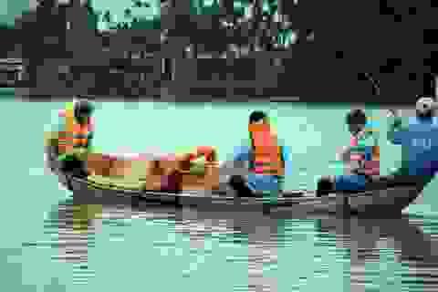 Tiệm cận lũ lịch sử, Quảng Ngãi sơ tán khẩn cấp hàng nghìn hộ dân