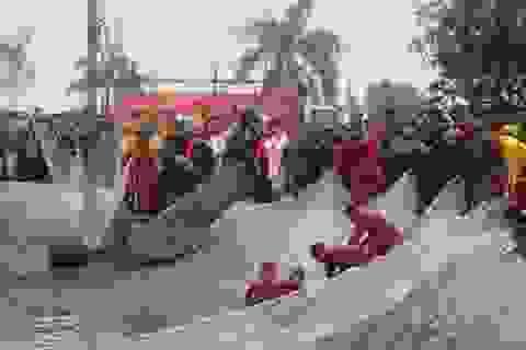 """""""Rước nước, tế cá"""" tri ân nhà Trần một Vương triều khởi nghiệp từ nghề chài lưới"""