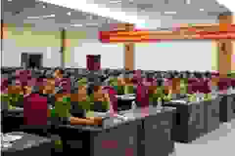 Huy động hơn 300 cán bộ chiến sỹ bảo vệ công tác bầu cử