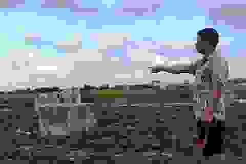 Dân tố công trình móng cột điện cao thế 220kV đổ bê tông… bằng đất