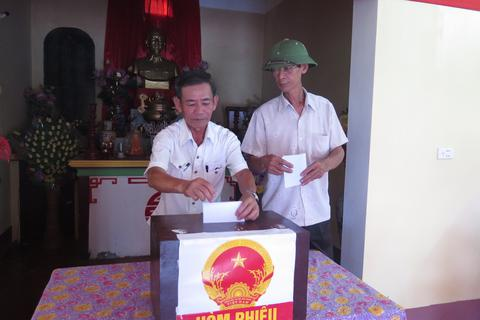 Nam Định bầu thêm 37 đại biểu HĐND tại 18 xã