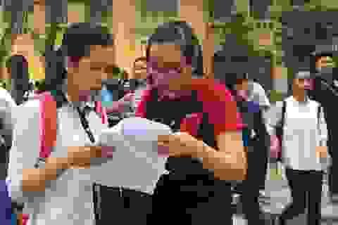 Trường đại học đầu tiên phía Nam công bố điểm thi