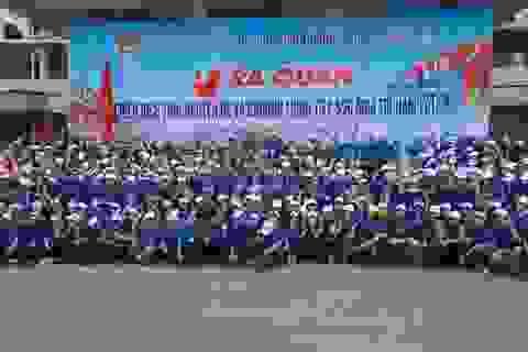 Hơn 1.700 sinh viên ĐH Vinh tham gia chiến dịch tình nguyện hè 2016
