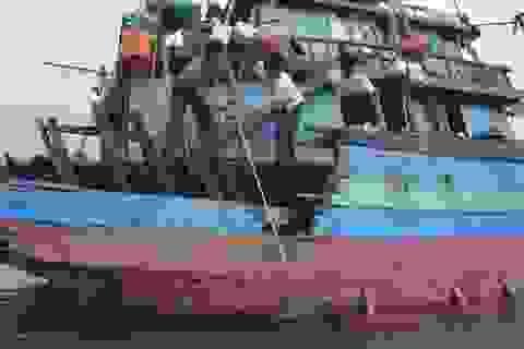 Nửa ngày sinh tử của 15 thuyền viên tàu cá bị đâm chìm trên biển