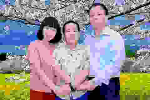 Đỗ Nhật Nam làm thơ tặng mẹ trước ngày trở lại Mỹ học tập