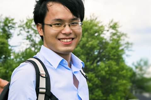 """Đàm Nguyễn Trọng Nhân - Nam sinh """"5 tốt"""" của trường Tự nhiên"""