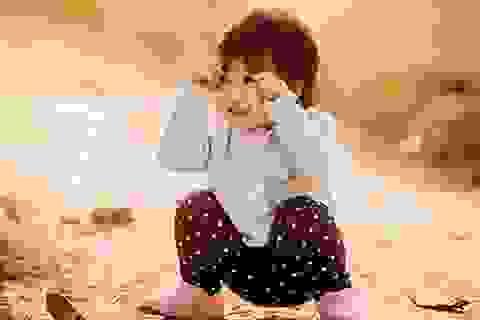 Cô bé 3 tuổi cực đáng yêu qua ống kính của bố