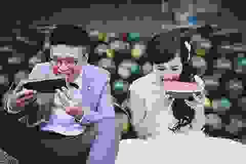 Bộ ảnh cưới đáng yêu từ Hà Nội tới Mộc Châu của cặp đôi Hồng Kông