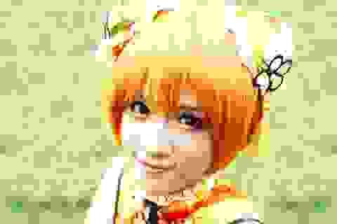 Nữ sinh Ngân hàng mê cosplay nổi bật ở lễ hội Nhật Bản