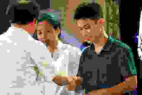 """Học sinh THPT Chu Văn An nhận thẻ cử tri - Dấu mốc """"đặc biệt"""" tuổi trưởng thành"""