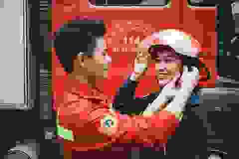 12 cặp đôi vào chung kết Sinh viên thanh lịch trường Phòng cháy chữa cháy
