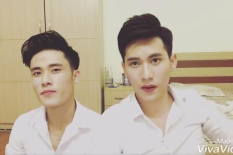 Clip hai chàng đẹp trai cover ngọt ngào hút 500.000 lượt xem trên mạng
