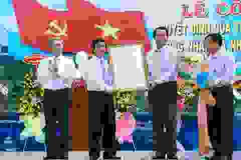 Nhơn Châu chính thức thành xã đảo trực thuộc TP.Quy Nhơn
