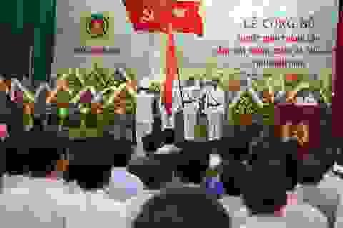 Thành lập Cảnh sát Phòng cháy và chữa cháy tỉnh Bình Định