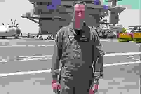 Chuẩn đô đốc Mỹ kể chuyện đối mặt Hải quân Trung Quốc trên Biển Đông