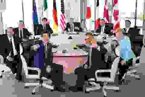 Lãnh đạo các nước G7 nhất trí gửi thông điệp mạnh mẽ về vấn đề Biển Đông