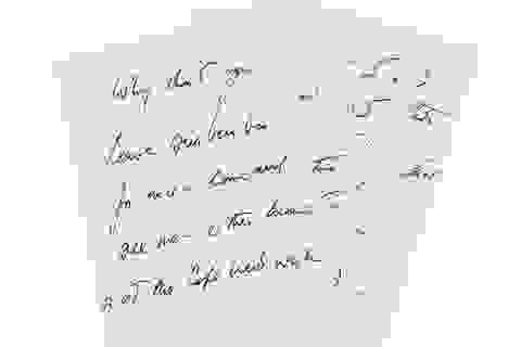 Đấu giá bức thư tình của cố Tổng thống Kennedy