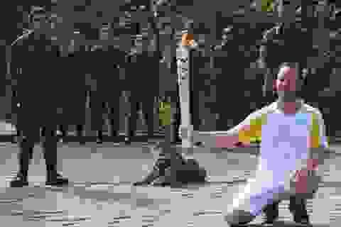 Báo đốm bị bắn chết trong lễ rước đuốc Olympic ở Brazil