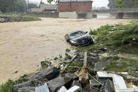 Lũ lụt lịch sử tại Mỹ, Tổng thống Obama ban bố tình trạng thảm họa