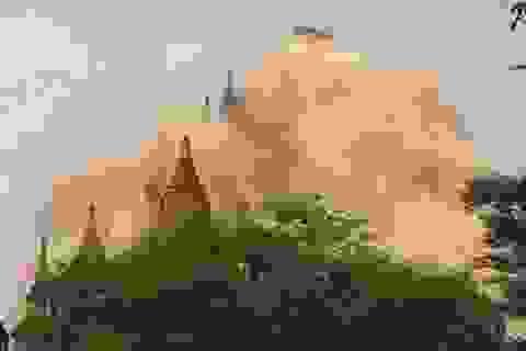 Gần 200 chùa cổ hư hại sau động đất mạnh ở Myanmar