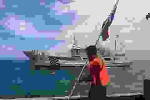 Philippines nghi Trung Quốc bồi đắp bãi cạn tranh chấp tại Biển Đông