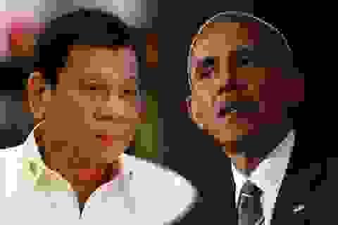Tổng thống Philippines Duterte nói chưa bao giờ xúc phạm ông Obama