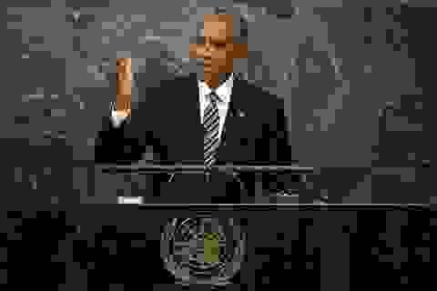 Ông Obama kêu gọi giải quyết tranh chấp Biển Đông tại Liên Hợp Quốc