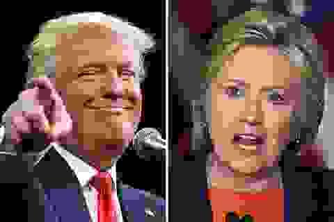 Tỷ phú Trump thu hẹp khoảng cách đáng kể với bà Clinton