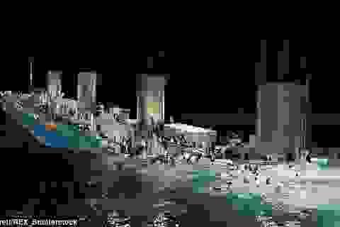 """Trung Quốc đóng tàu Titanic """"nhái"""" để hút khách du lịch"""