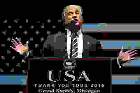 Tổng thống đắc cử Trump hoãn công bố kế hoạch rút khỏi thương trường
