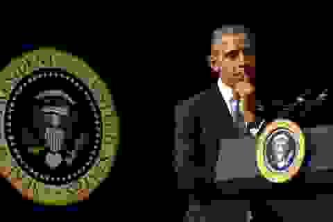 """Ông Obama: Tổng thống không nhận tin tình báo giống người """"ném đá mò đường"""""""