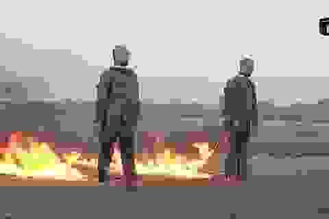 IS tung video thiêu sống hai binh sĩ Thổ Nhĩ Kỳ