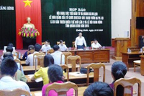 Hội nghị xúc tiến đầu tư và quảng bá du lịch Quảng Bình